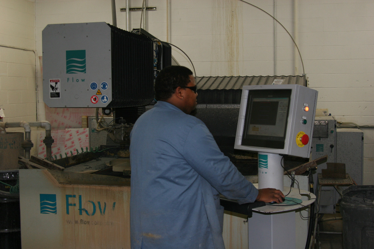 Our Waterjet Machine