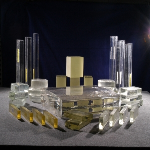 Optical Glass Strips and Blocks